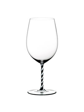 Wine Glass Bordeaux Grand Cru Black & White